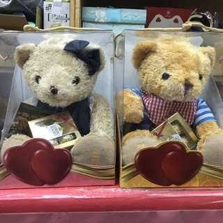 🚚 正版泰迪熊娃娃