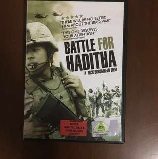 Battle for Haditha Movie DVD