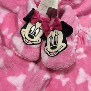 Disney baby hoodie and boots