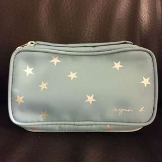 Agnes B cosmetic bag / small pouch 細袋仔 化妝袋