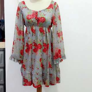 Floral Dress By MOST