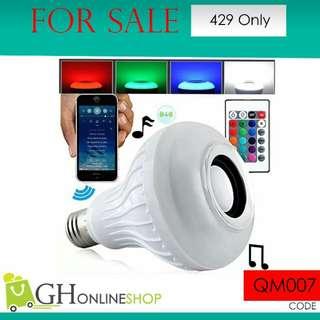 Music Light Bulb