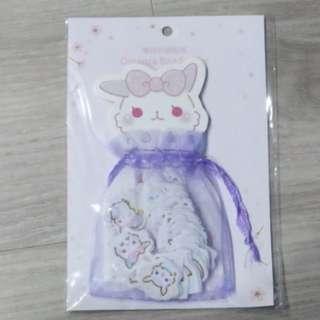 [BN] Cute Sheep Flake Stickers