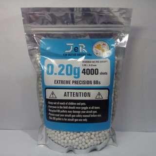 4000 shots .20g airsoft bb pellets