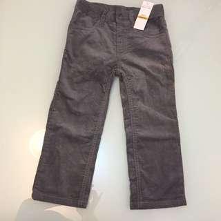 全新ck jeans 燈心絨褲 3T 有少dirty