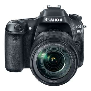 Canon 80D Kit EF-S 18-135 IS USM