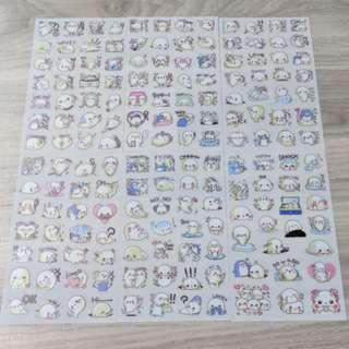 [BN] Cute Seal / Penguin Stickers