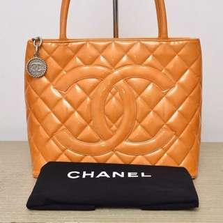 Authentic Chanel CC Medallion