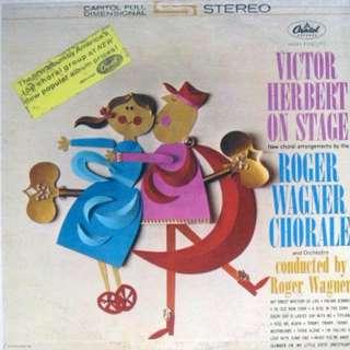 Roger Wagner vinyl LP