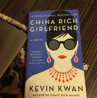 China rich girlfriend by Kevin Kwan , mint condition