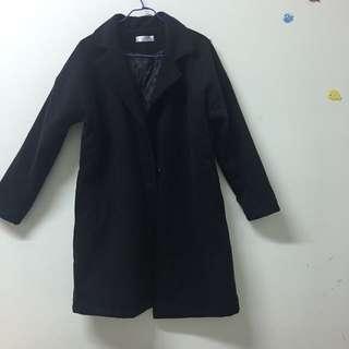 🚚 全新🤤保暖黑色大衣