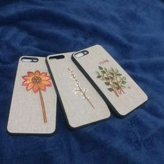 iPhone 7 plus embroidery case