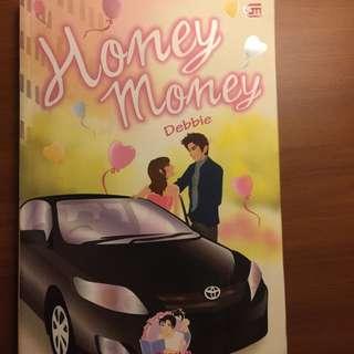 novel teenlit Honey Money by Debbie