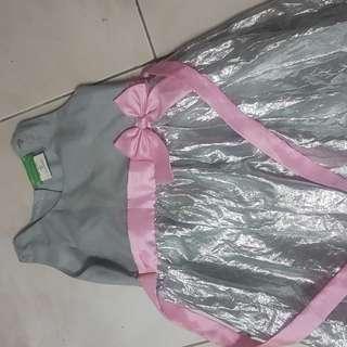 Girls semi gown