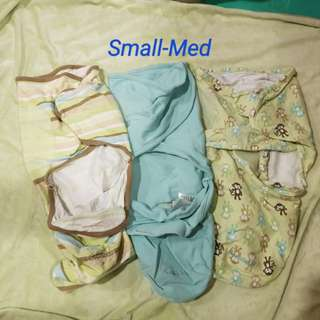 1 Price for all 3 Swaddles