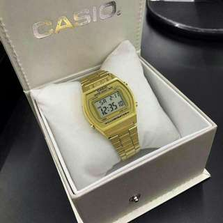 *Casio* RM80 free box casio Pos sm rm8 / ss rm11  Material : Stainless steel Condition : NEW Gender : Girl  ================== Spec Ringkas :  ✔ 1 Month Warranty mesin ✔ Batery watch ✔ gred 2A ✔ Digital function