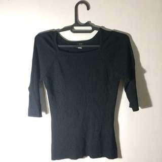 Black Skinny Shirt
