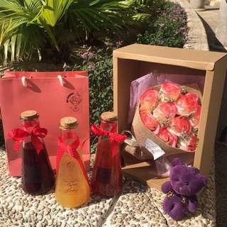 情人節💏  專屬雞尾酒🍸 禮品 套裝 可連花💐購買 生日 禮物 結婚回禮 Valentines Day Birthday