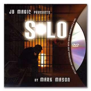 Solo by Mark Mason (DVD + Gimmick) Magic Trick
