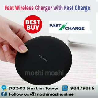 Fast Wireless Charger with Fast Charger