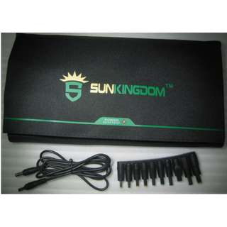 SunKingdom 40W Foldable Solar Panel . DC 18V output and USB 5V port