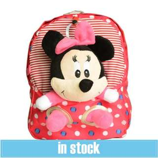 Minnie Mouse Baby Backpack  -Pink Color