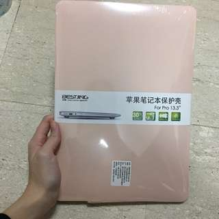 MacBook Pro 13 no touch bar pastel pink case