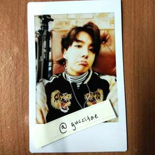 Unofficial Jhope Instax Polaroid