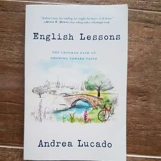 (Price lowered!) English Lessons (Andrea Lucado)