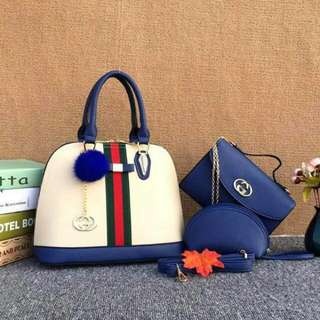 Gucci Set Bag 3 in 1 Hot Sell