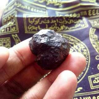 Batu mustika munta besi asli