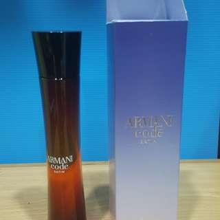 Giorgio Armani  code satin perfume 75ml