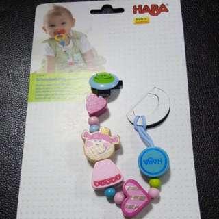BNWT HABA Pacifier Clip