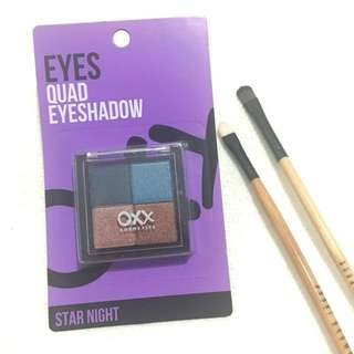 OXX Cosmetics Eyeshadow Quad Pallete