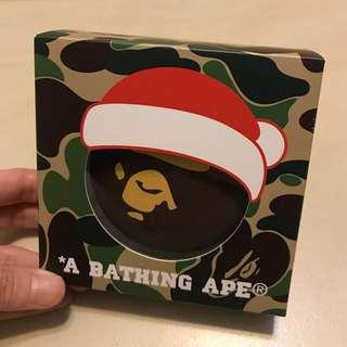 【全新】 Bathing Ape 限量版充電器連暖手器