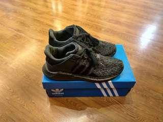 Adidas EQT Supporr 93/17 Full Black UA ORIGINAL BASF BOOST