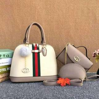 Gucci Set 3 in 1 Nude color