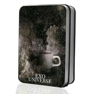 Preorder - EXO UNIVERSE LOMOCARD TIN -40 PCS  exc.pos