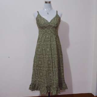 APT. 9 Moss Green Maxi Dress