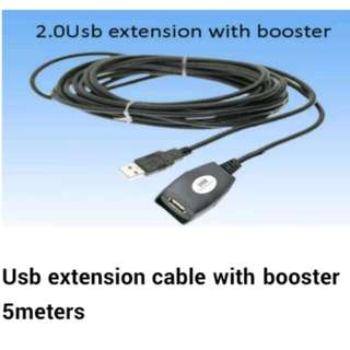USB Cable Extension 5meters