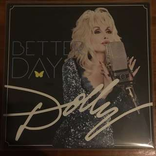 Dolly Parton Better Day LP Vinyl Record 2LP Set