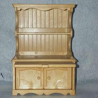 Sylvanian Kitchen  Cabinet