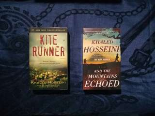 Khaled Hosseini The Kite Runner & And The Mountains Echoed Bundle