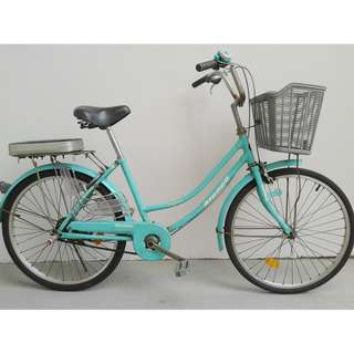 "Aleoca 24"" City Bike Signora Bicycle"