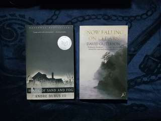 House of Sand and Fog & Snow Falling on Cedars book bundle