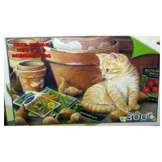 Jigsaw Puzzle 300 pieces - Nelson & Flower Pots (Pre-Owned)