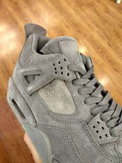 Nike Air Jordan 4 Retro X Kaws Cool Grey UA BNIB