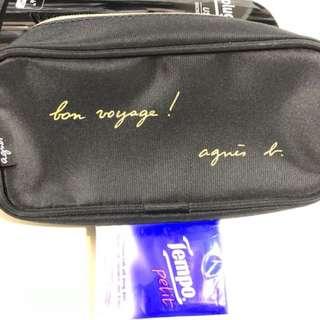 Agnis b 放化裝品袋Toiletry Cosmetics Bag
