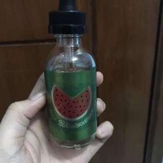 Liquid vape vaping icy watermelon