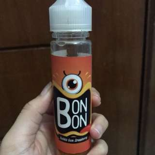 Liquid vape vaping bonbon bubble gum strawberry